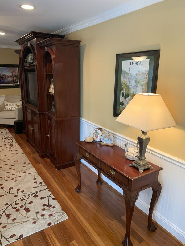 TV/Wall Unit w/matching Console Table- Limited Delivery ...