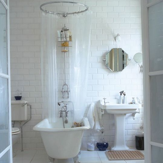 6 Classic Style Bathrooms Bath Central Shower Over Roll Top Bath