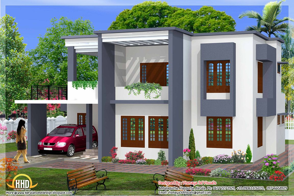Interior Design Simple House Design Simple Bedroom Flat Roof House Design  House Plans Home Designs And