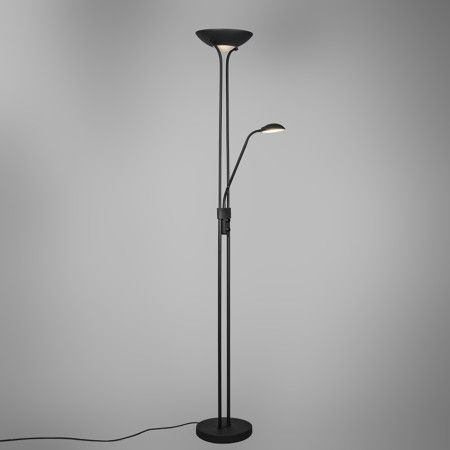 Stehleuchte Diva LED 2 schwarz #Stehleuchte #Deckenfluter - wohnung mit deckenfluter einrichtern modern