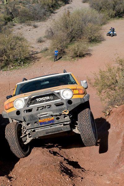 Toyota FJ in Arizona...