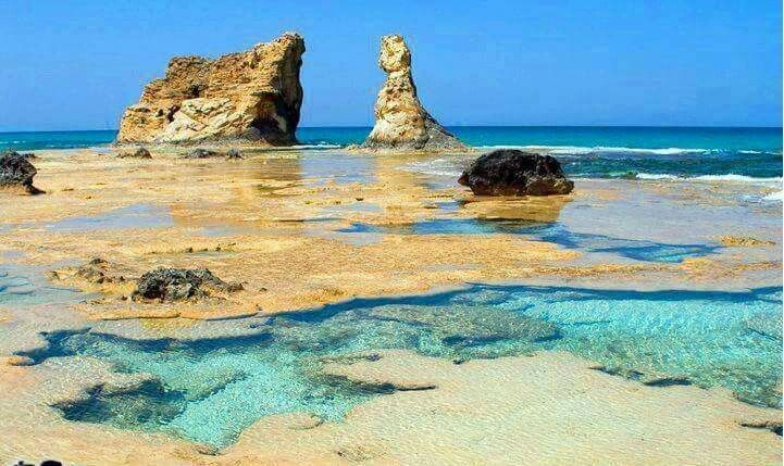 Cleopatra Bath Marsa Matrouh North Coast Egypt Natura Spiaggia Cleopatra