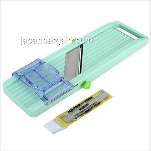 Benriner Japanese Green Mandoline Slicer For Fruit Vegetable