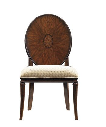 Stanley Furniture » Dining Chairs » Avalon HeightsWood Back Side Chair