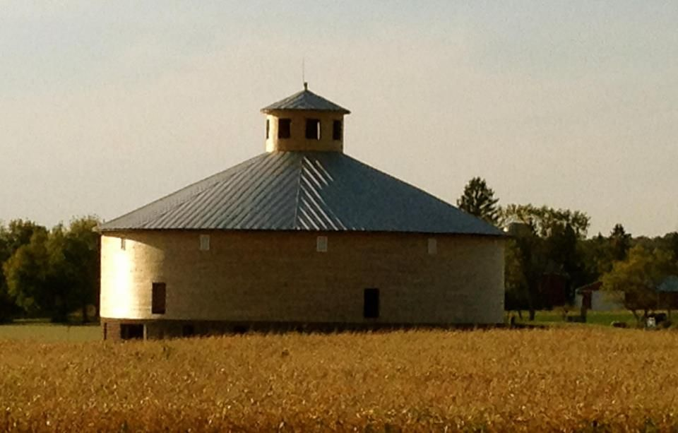 The Round Barn Willow Springs Garden Wausau Wi Photo Taken By