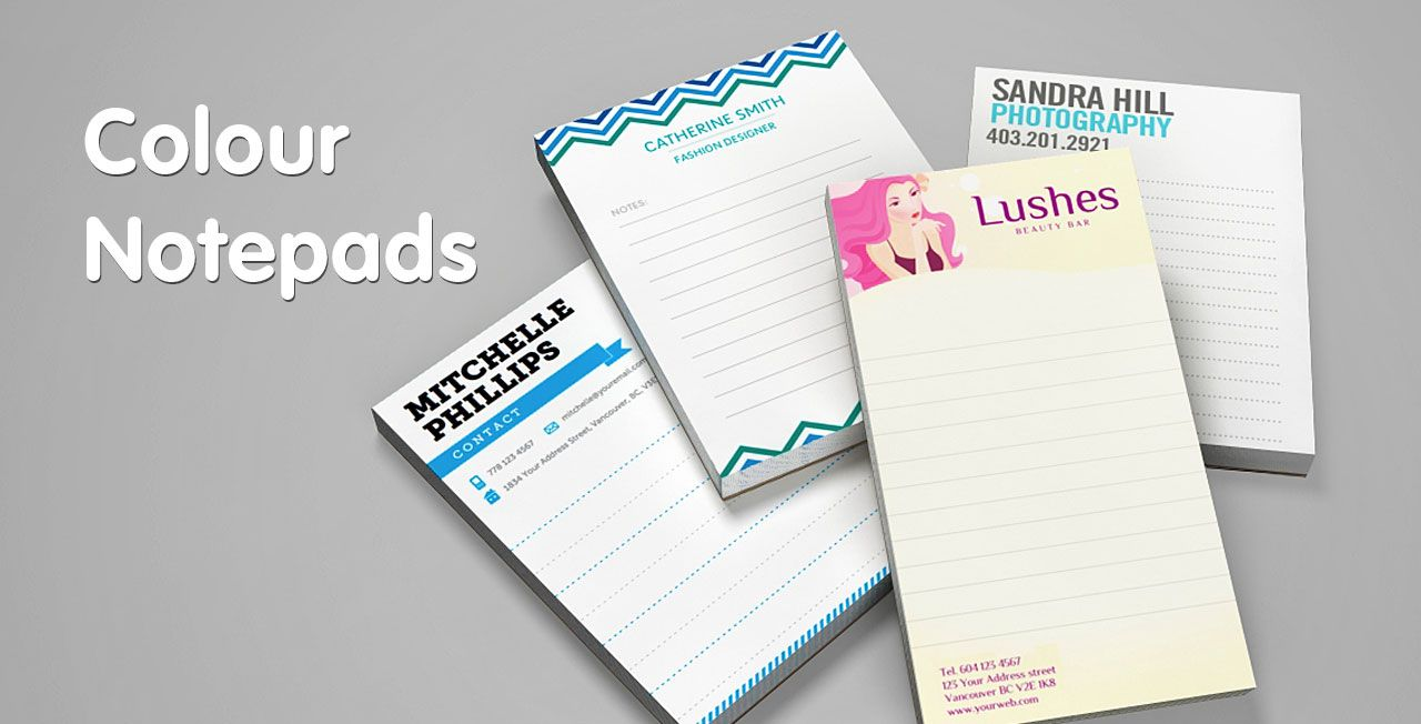 Full colour notepad printing from Jukeboxprint.com | CRAFTS ...