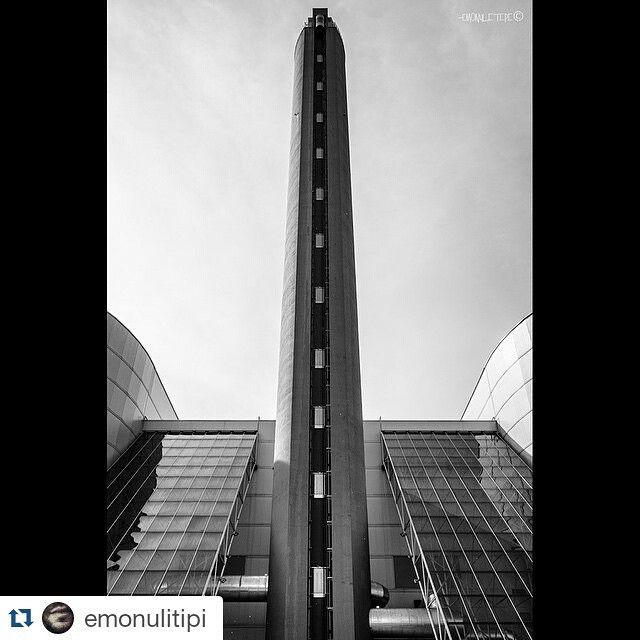 #Torino raccontata da emonulitipi per #inTO TRM - Trattamento Rifiuti Metropolitani, o anche detto inceneritore del Gerbido. #inTO #etp1047 #turin