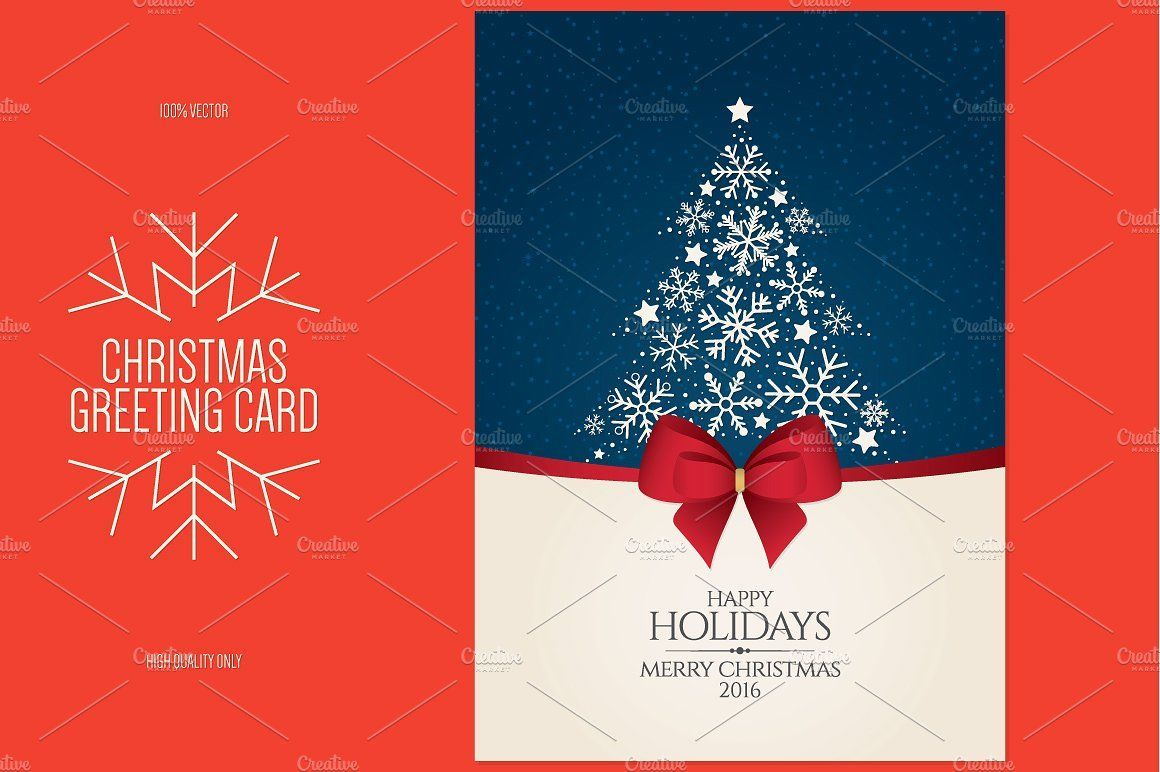 The Enchanting Christmas And New Year Greeting Cardrestaurant Menu Intended F In 2020 Christmas Card Template Photoshop Christmas Card Template New Year Greeting Cards