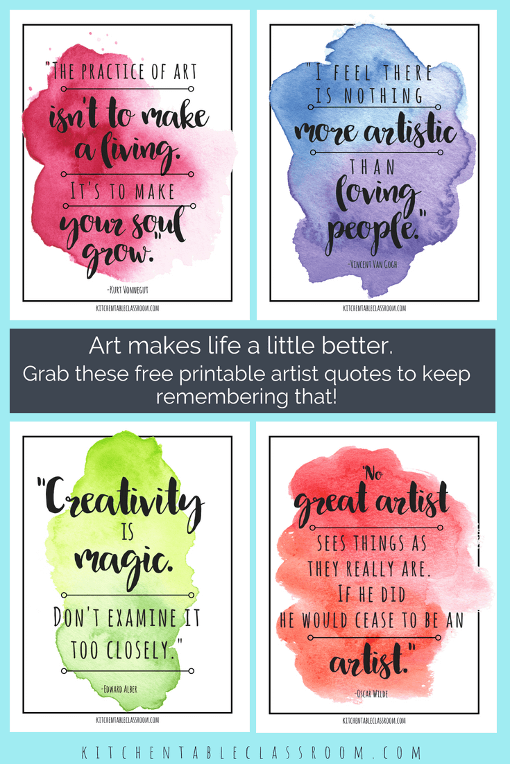 Famous Artist Quotes Art Quotes To