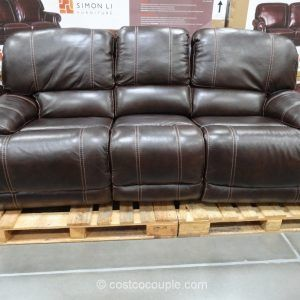 Cheers Clayton Leather Sofa Furniture Leather Reclining Sofa