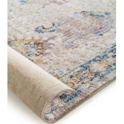 benuta Teppich Tara Multicolor 160×230 cm – Vintage Teppich im Used-Look benuta