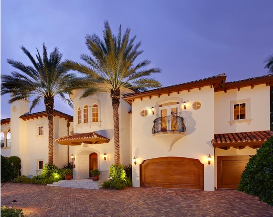 Paint For Mediteranian House Exterior Paint Ideas - Before and after from a mediterranean house fort lauderdale