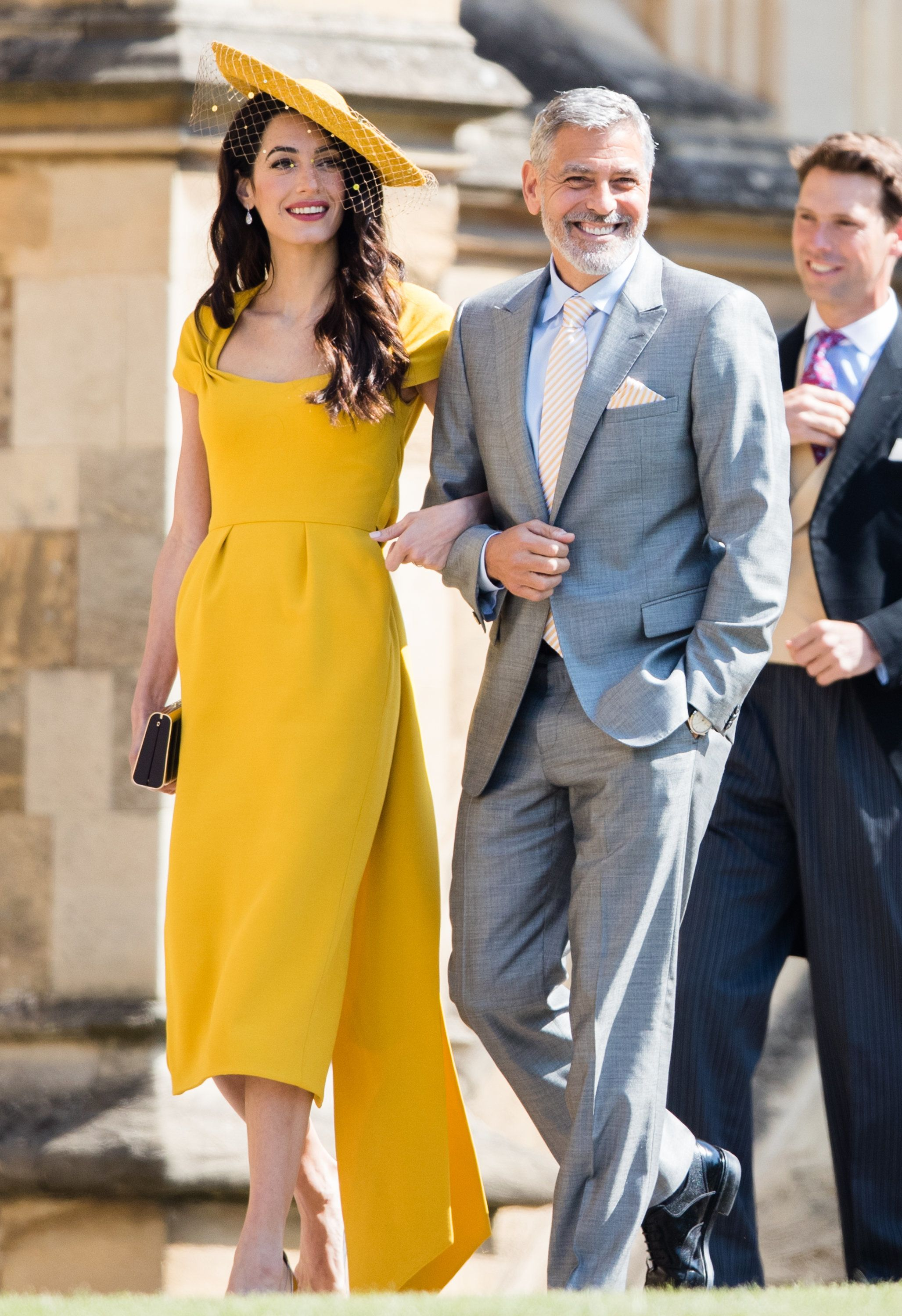 9e4bdb7abbda Here's Why Amal Clooney Royal Wedding Outfit Cost Over Half A Million  Dollars