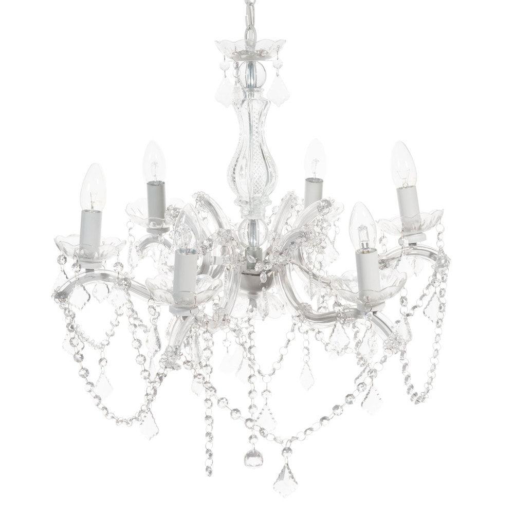 Candelabri Maison Du Monde lampadario con pendenti in metallo (avec images) | lustre à