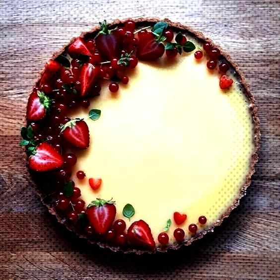 This Lemon Tart with Redcurrants and Strawberries recipe is featured in the Pies ... - This Lemon