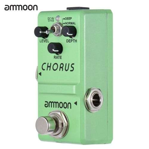 ammoon Nano Series Guitar Effect Pedal Analog Chorus True Bypass Aluminum Alloy Body