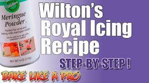 Wilton Royal Icing #easyroyalicingrecipe