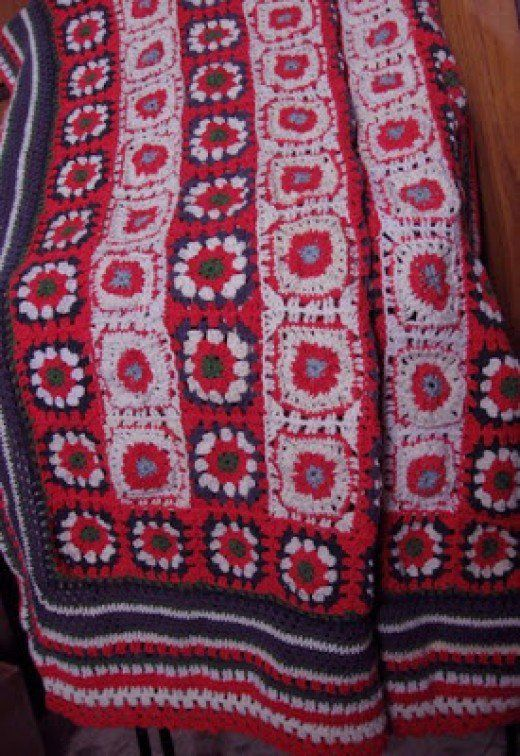 7 loom knit blanket patterns designed specifically for the Knifty ...