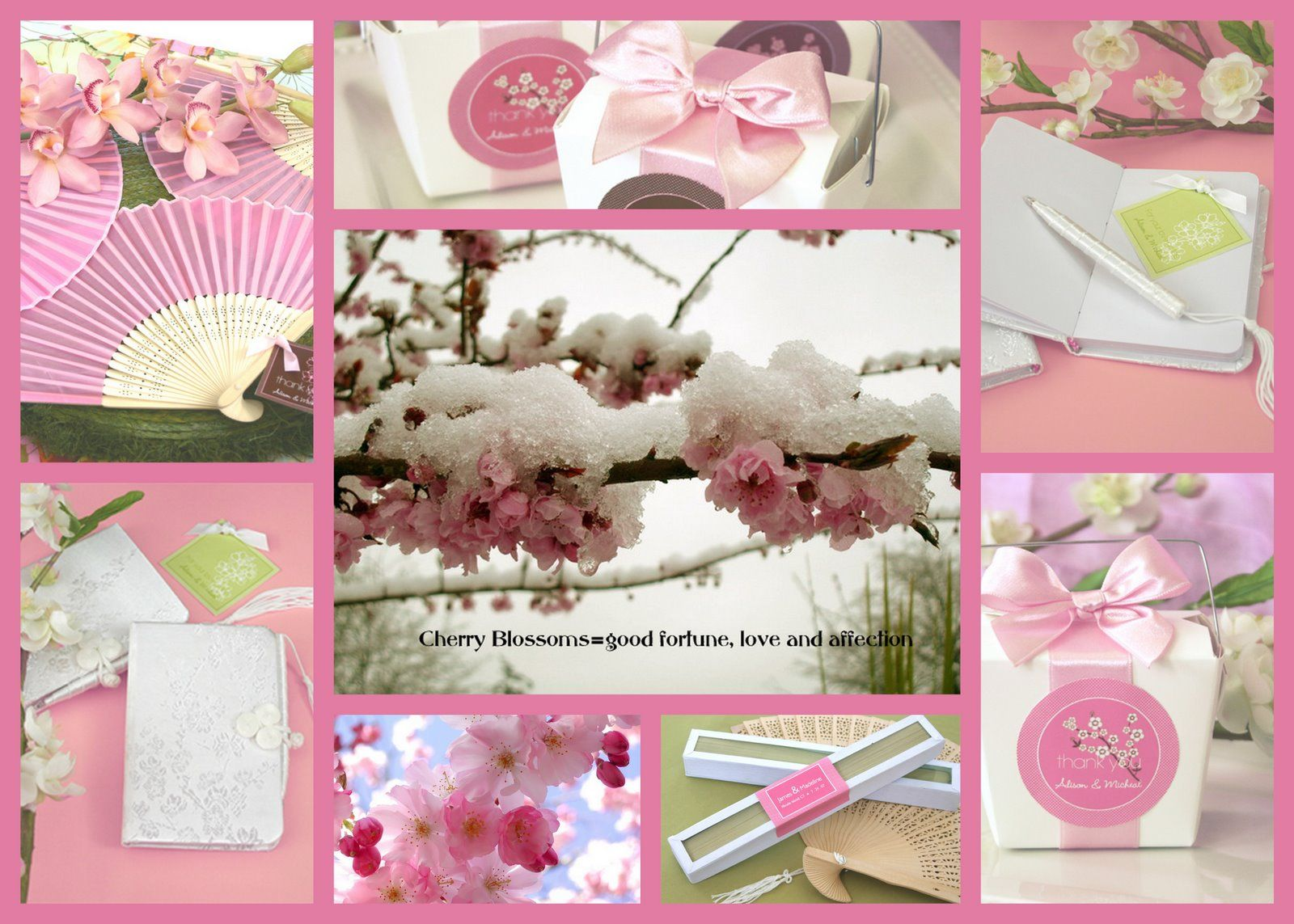 Cherry Blossom = Good Fortune, Love and Affection. | Cherry Blossom ...