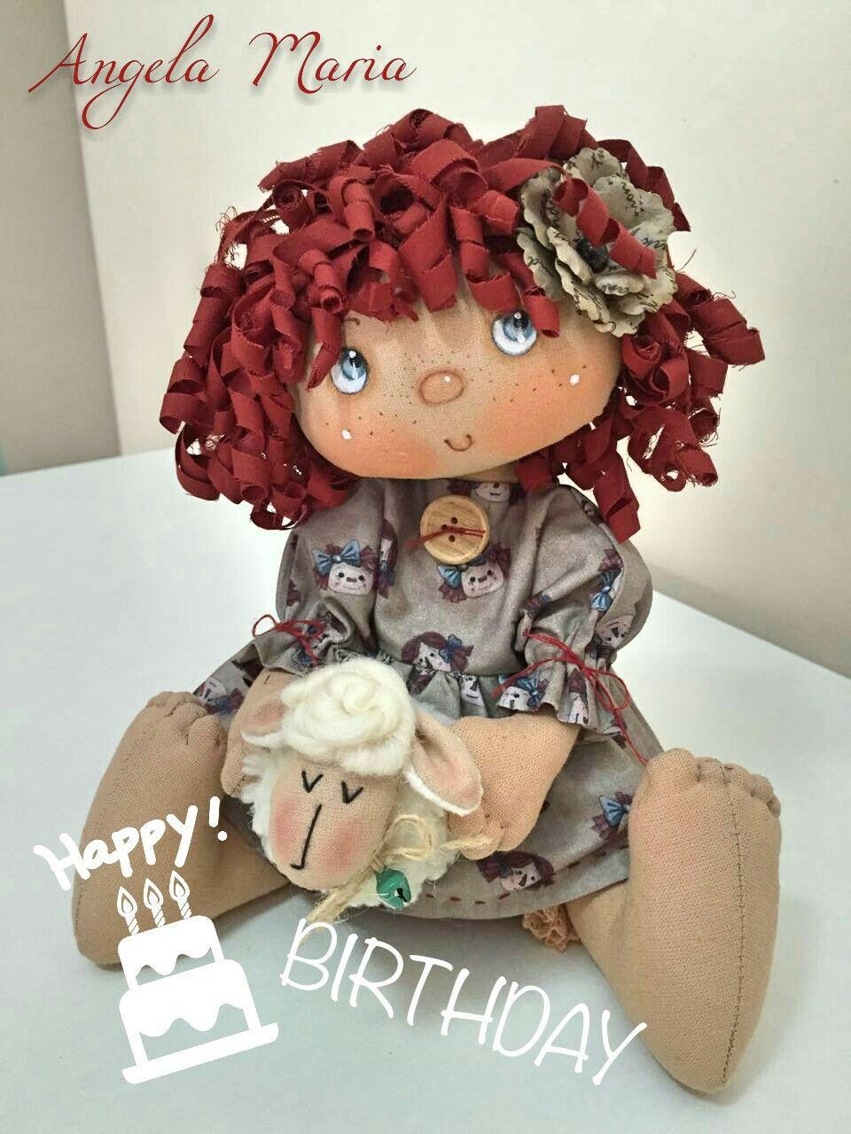 ❤ Happy Bday ❤ by Maria Faz Boneca | кукляшки | Pinterest | Dolls ...