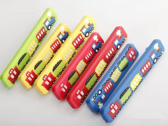Kids Dresser Pulls Drawer Pull Handles Knobs Red Blue Yellow Green ...