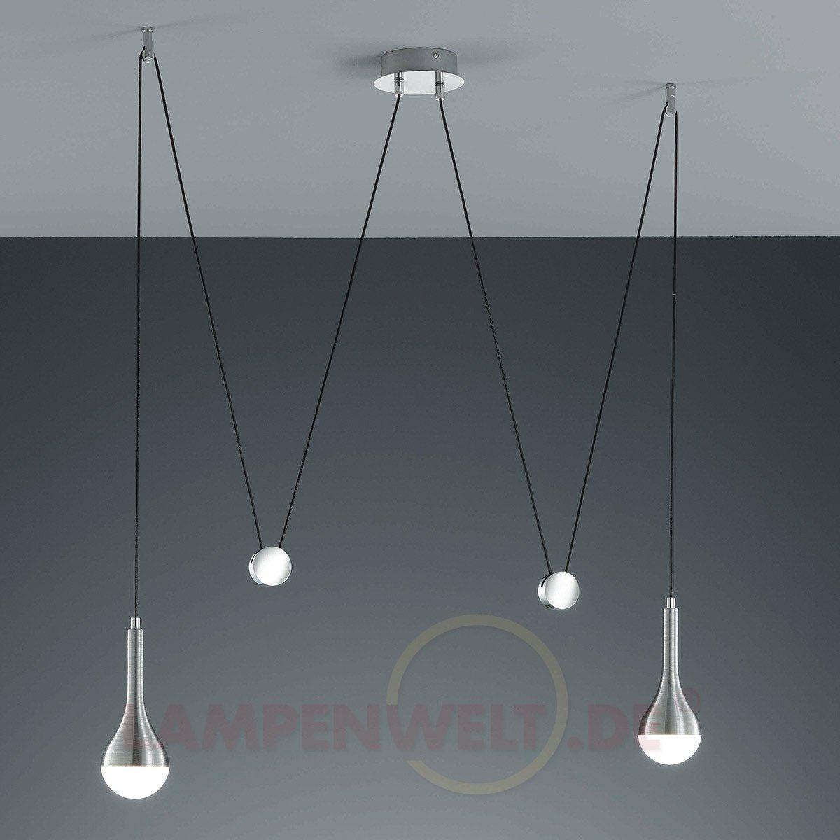 Hohenverstellbare Led Pendelleuchte Drop Kaufen Lampen Pinterest