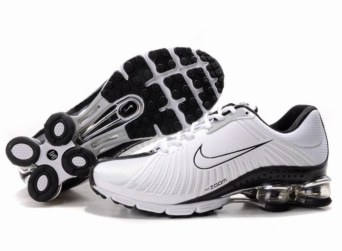 Nike Shox Experience Womens Trainers Shoes White Black  www.cheapnikeshoxshoesfactory.com