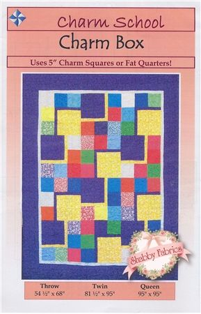 My First Quilt Project Perhaps Charm Box Quilt Pattern This Quilt