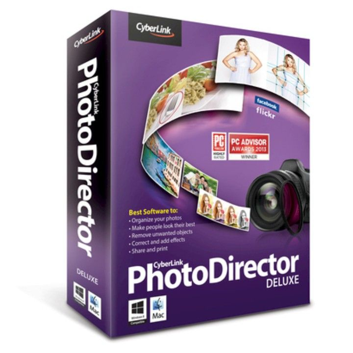 Cyberlink Photo Director Version 4 Deluxe Photography Software Photo editing  from Louise's Attic for $49 on Square Market