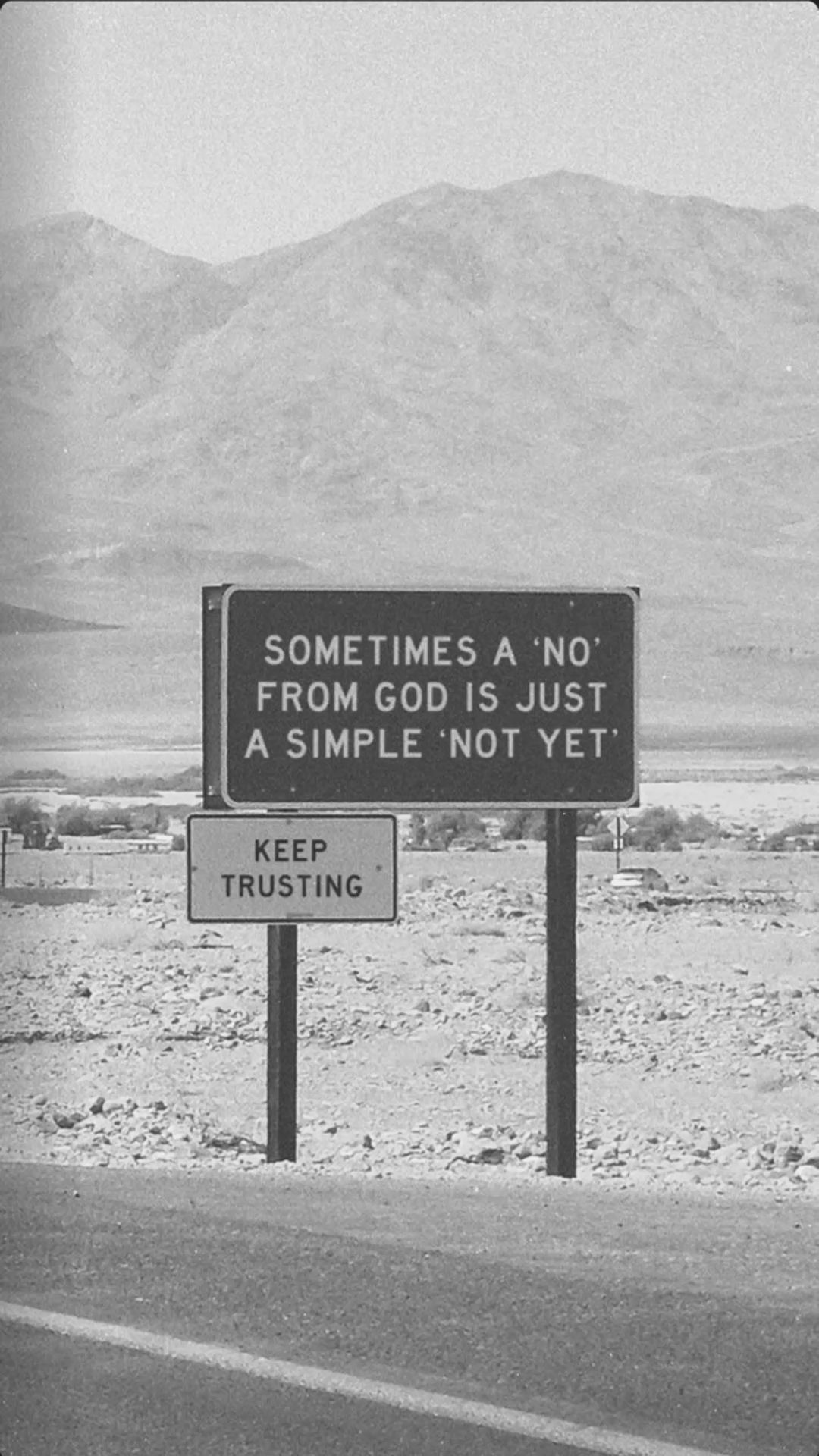 Christian Inspiration in Black and White
