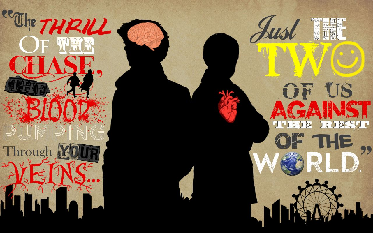 The Brain And The Heart  BBC Sherlock WALLPAPER By  BradyMajor.deviantart.com On @deviantART