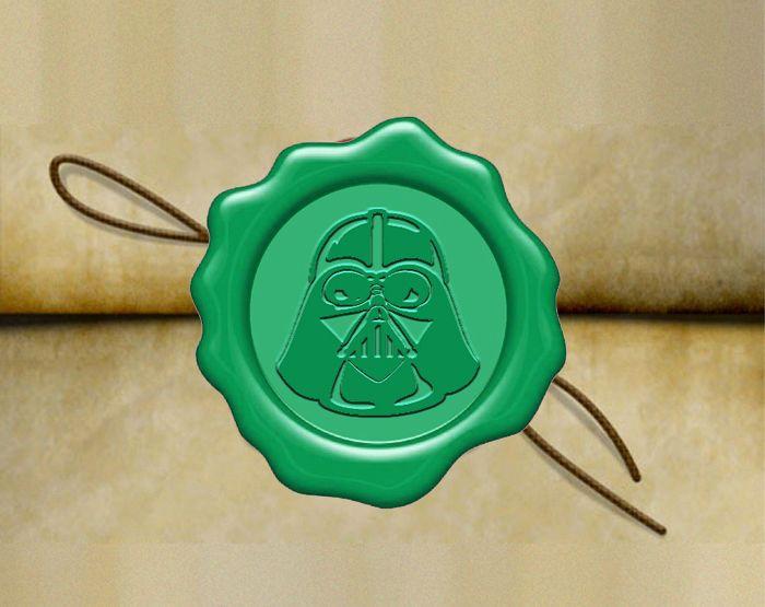 Darth Vader Wax Seal Stamp