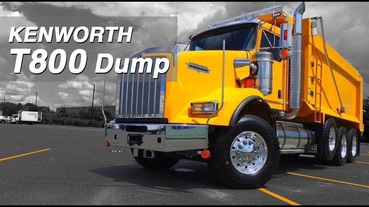 Gabrielli Truck Sales >> NEW Yellow Kenworth T800 Tri-Axle Dump Truck For Sale ...