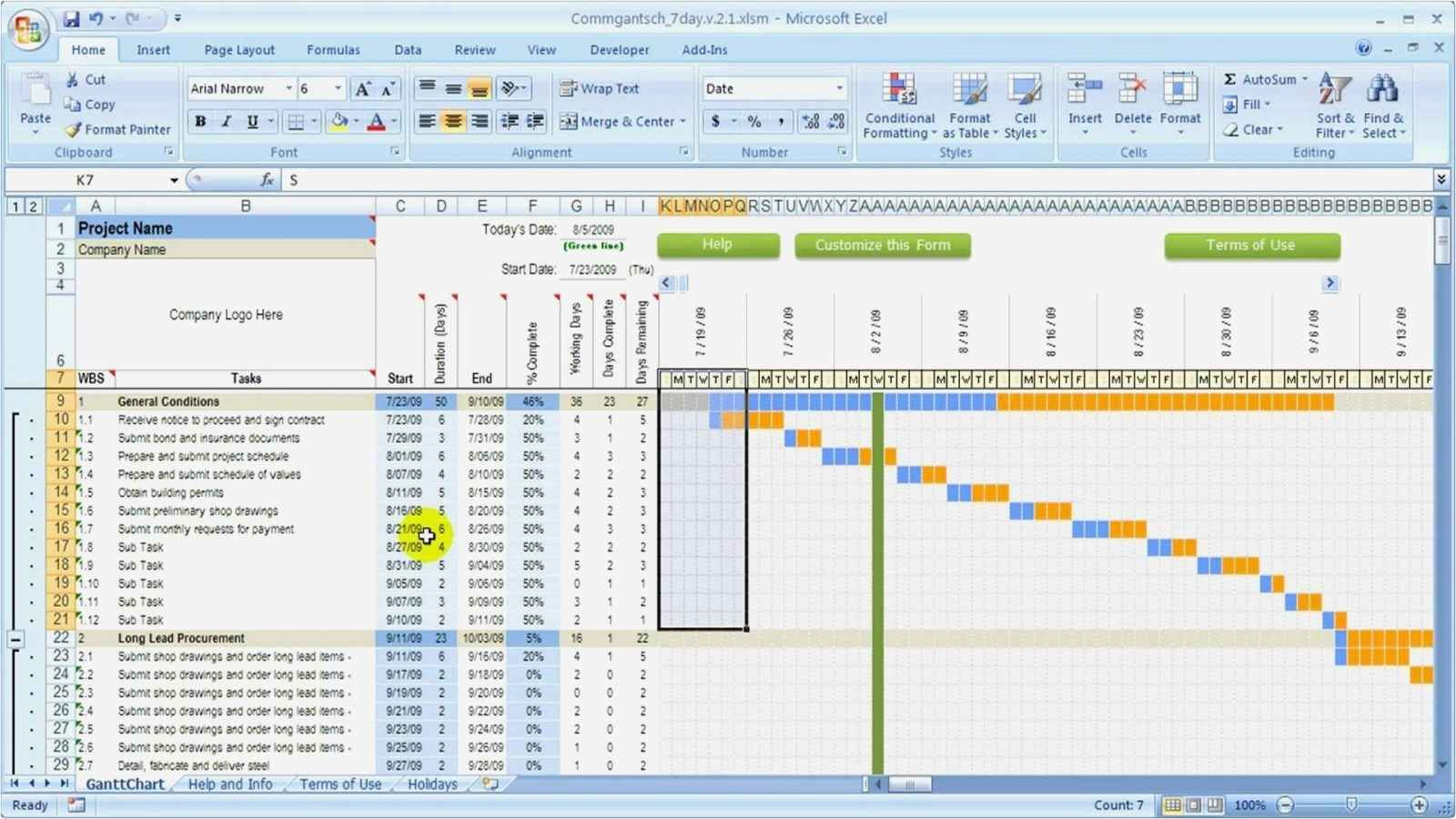 Resource Capacity Planning Template Excel Capacity Planning