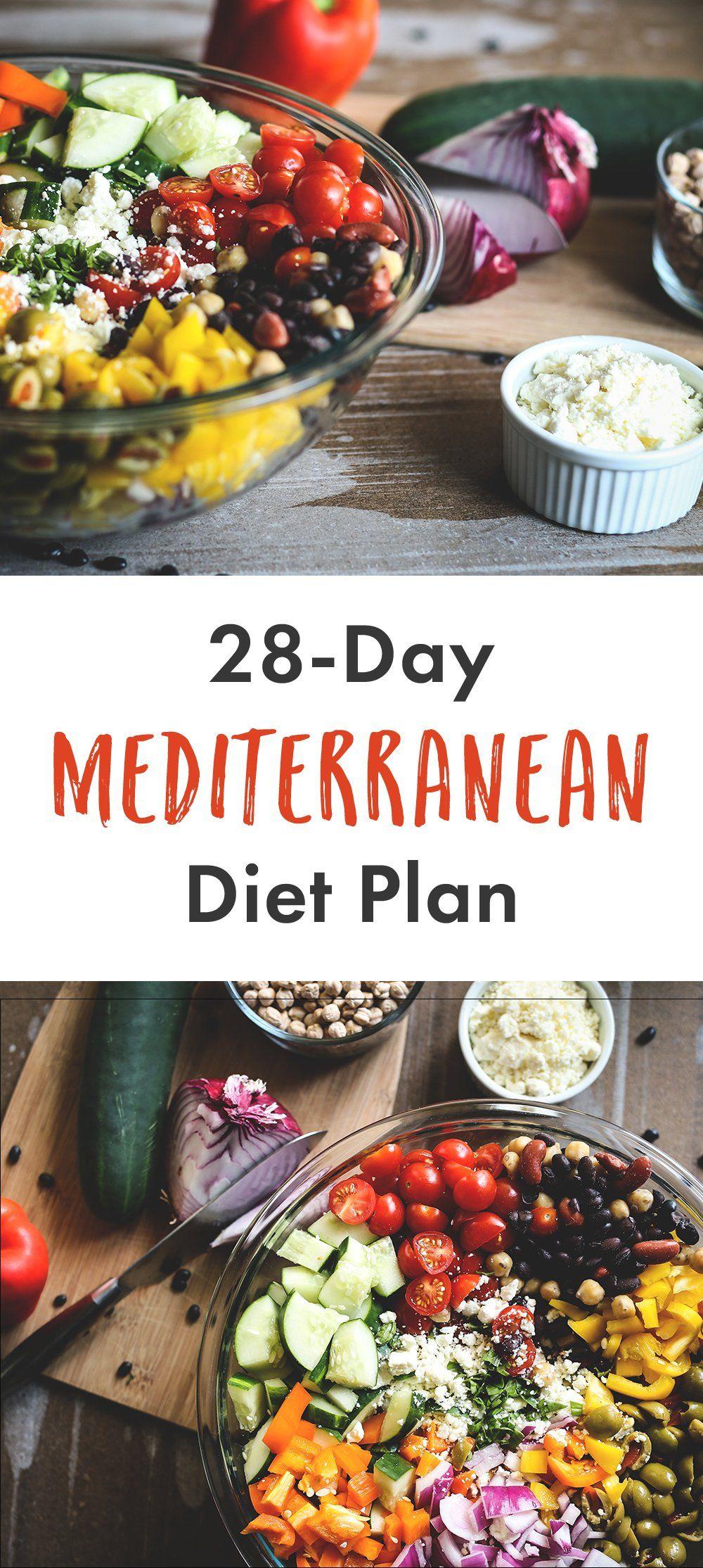 28 Day Mediterranean Diet Plan | Livestrong.com