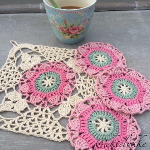 Pin de diana campos en Crochet y tejido   Pinterest   Rosas ...