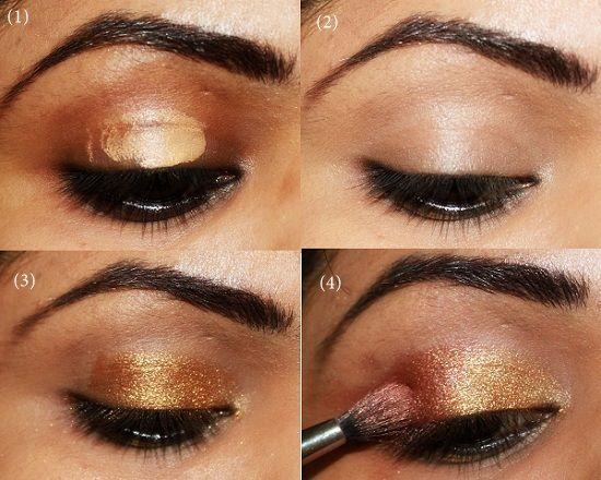 indian bridal makeup tips indian bridal eye makeup. Black Bedroom Furniture Sets. Home Design Ideas