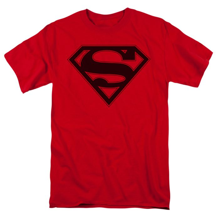 New Justice League Movie SHIELD LOGO Adult T-Shirt All Sizes