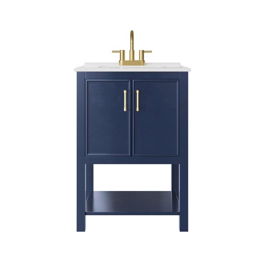 28+ Navy blue vanity lowes model