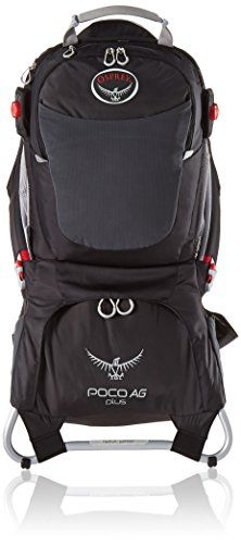 a248de961a4 Osprey Packs Poco AG Plus Child Carrier Black     Click on the image for  additional details. (This is an affiliate link)  CampingBackpacks
