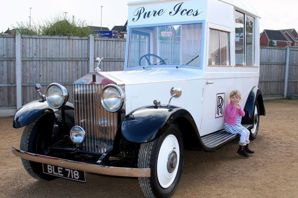 Rolls Royce Ice Cream Truck | ~ Antique cars ~ | Pinterest | Rolls ...