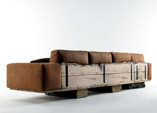 Lovely Cool Designer Sofas In Vibrant Colors Of Bretz And Riva