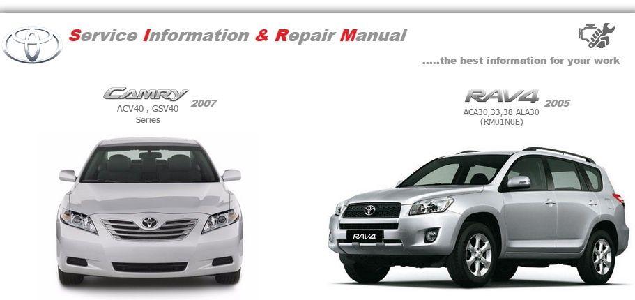 2007 rav4 manual