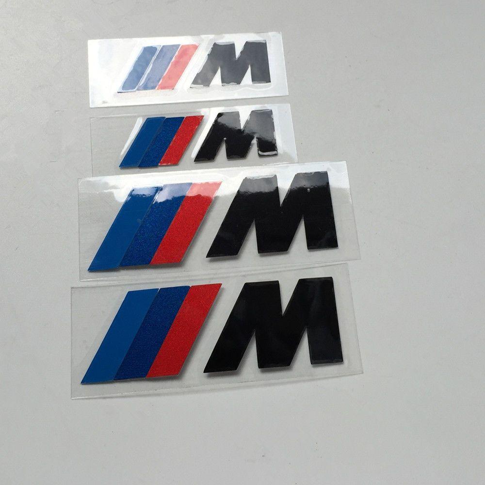 For BMW M Series Brake Caliper HIGT TEMPERATURE Decal Sticker Set - Bmw m brake caliper decals