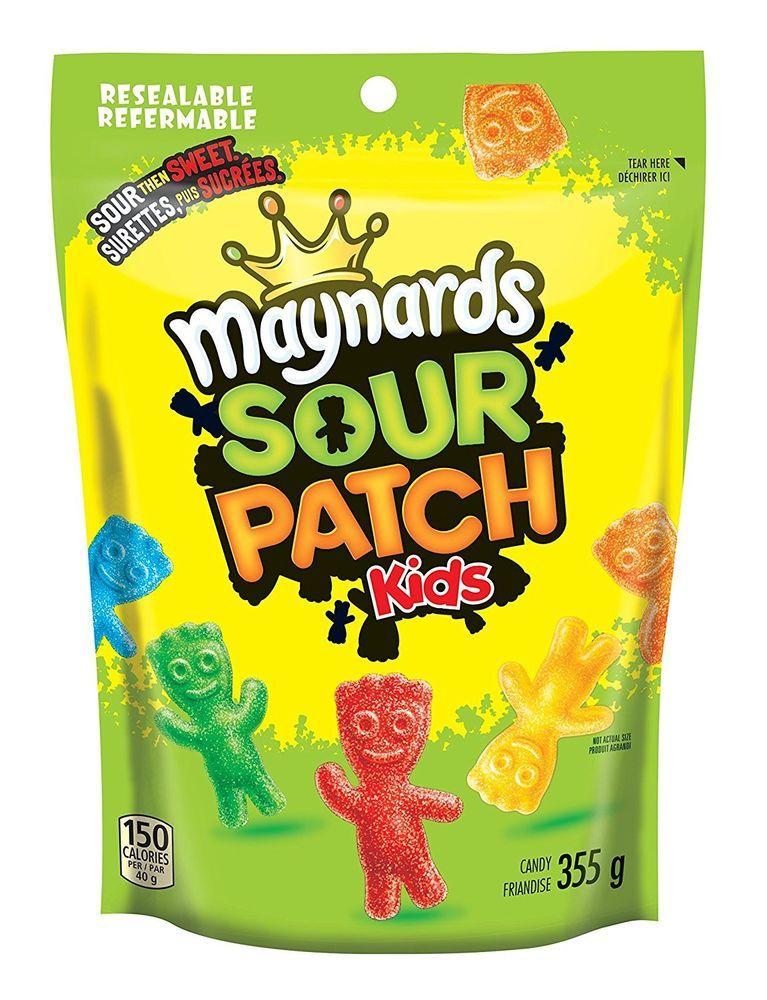 Maynards Sour Patch Kids 355 G Canada S 1 Candy Brand Fruit Gummy Gummies Free Shipping Ebay Canada Food Store On Sour Patch Kids Sour Patch Maynards