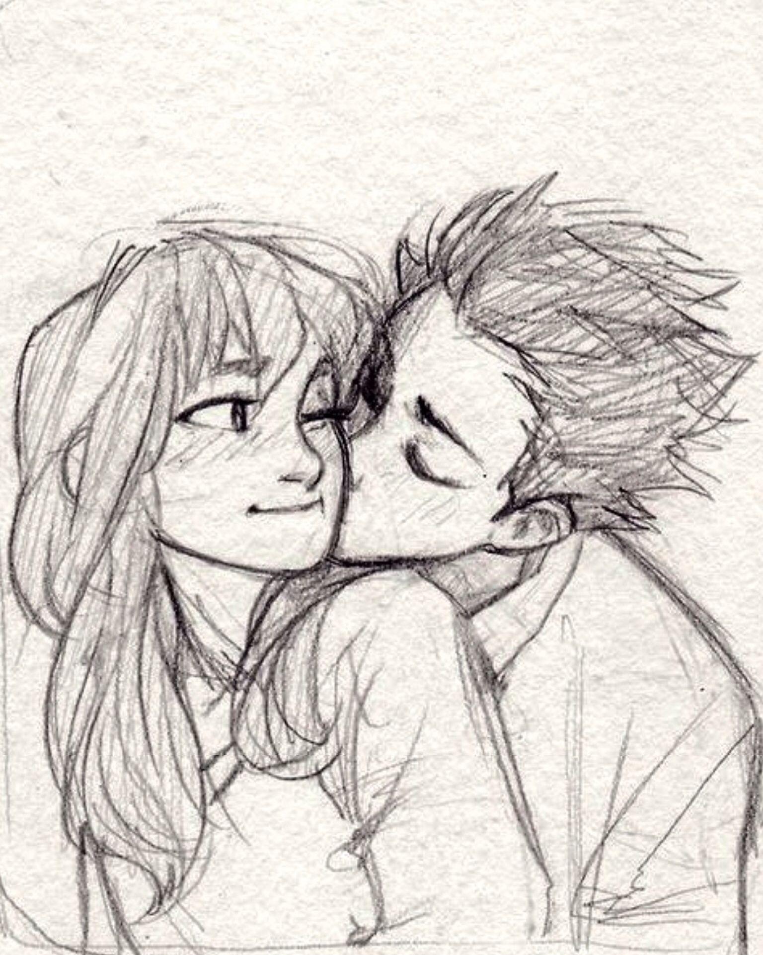 Anime drawing drawings cool art drawings cute couple