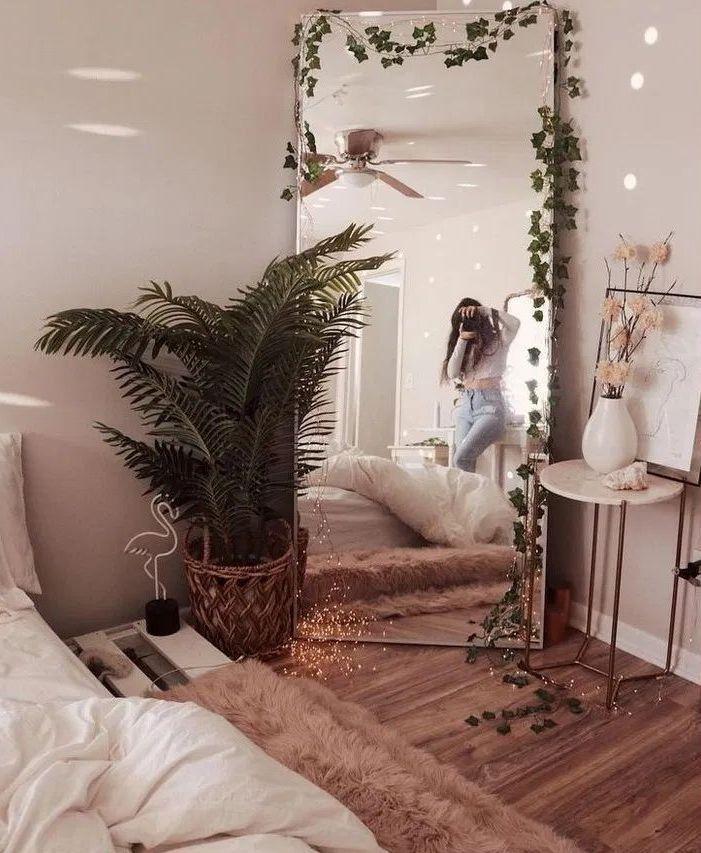 Luxury beautiful diy fairy light for minimalist bedroom decoration 30 – fugar