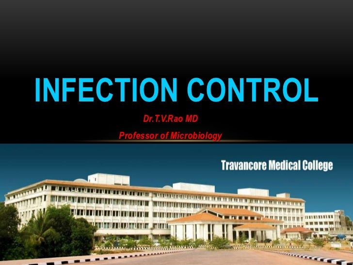 infection-control-hospital-infections by tumalapalli venkateswara