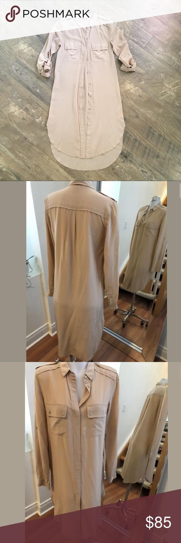 Wilfred Silk Shirt Dress Silk Shirt Dress Silk Shirt Button Down Shirt Dress [ 1740 x 580 Pixel ]