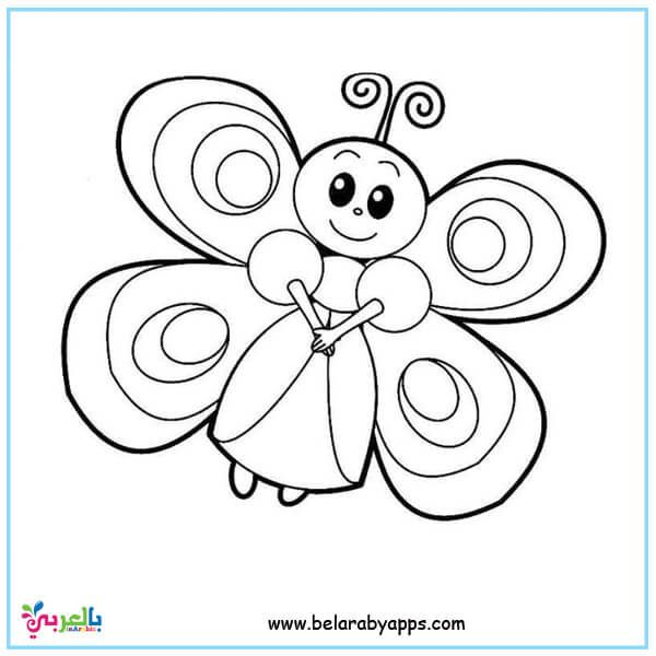 Butterfly Coloring Pages For Kids Preschool Belarabyapps Butterfly Coloring Page Animal Coloring Pages Kindergarten Coloring Pages